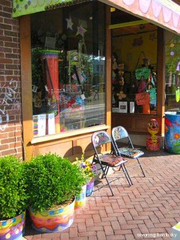 Storefront of Third Street Stuff & Coffee, Lexington, Kentucky