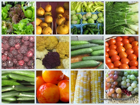 Kentucky Fruit and Vegetable Grid
