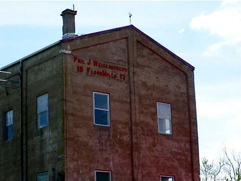 A Weisenberger Mill building that seems to have been around for a long time
