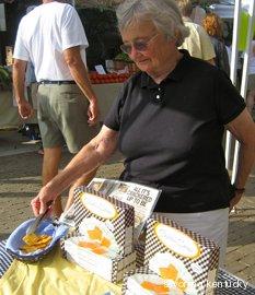 Nancy of Nancy's Fancy Cheddar Snaps, Lexington, Kentucky