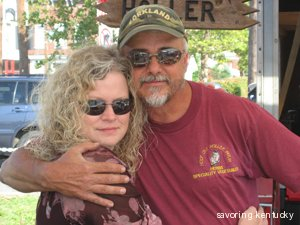 Lonnie Wilson and Sharon Stratton, owners of Hoot Owl Holler Farm, Kentucky