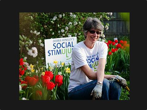 Debra Hensley, Creator of Debra's Social $timulus