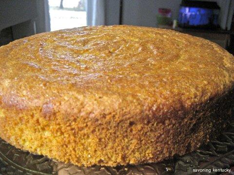 Almond Cornmeal Torte