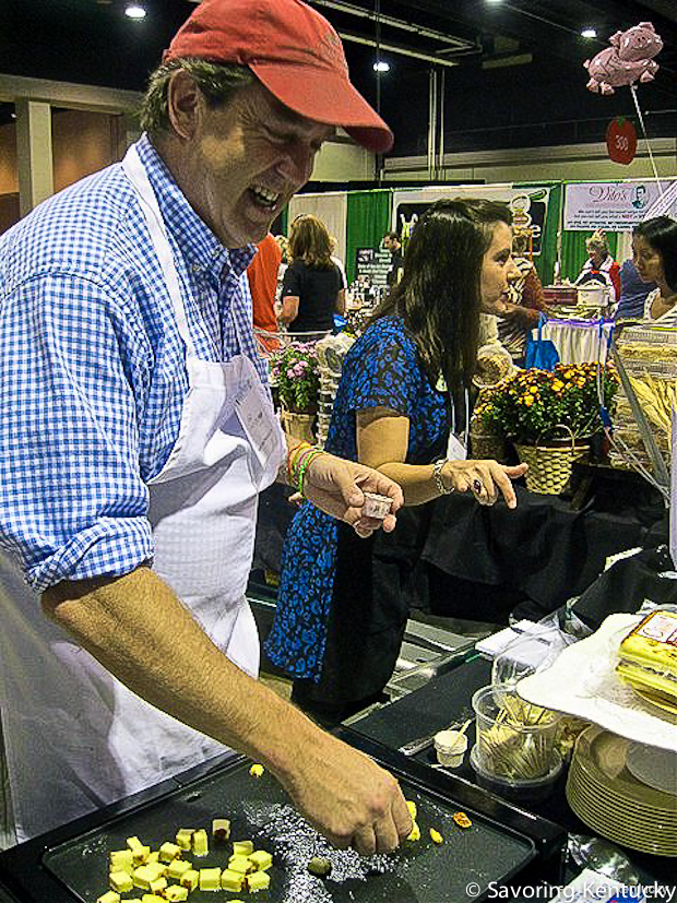 Pat Wylie and Danielle Dove of Good Foods at the Incredible Food Show