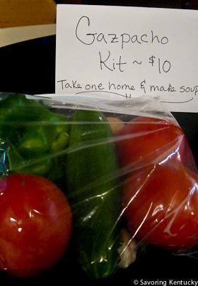Seedleaf's fund-raising Gazpacho Kit