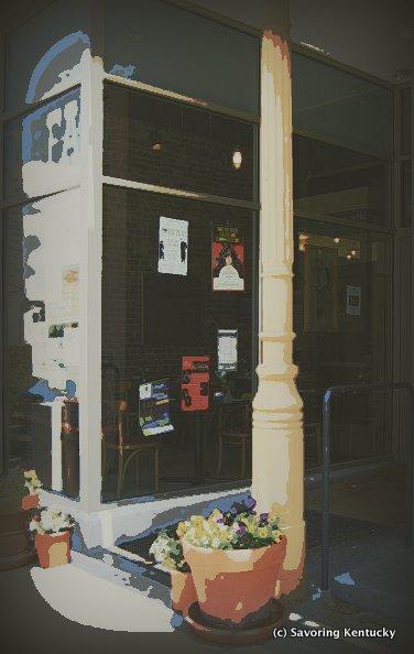 Alfalfa entrance on Lexington, Kentucky's Main Street