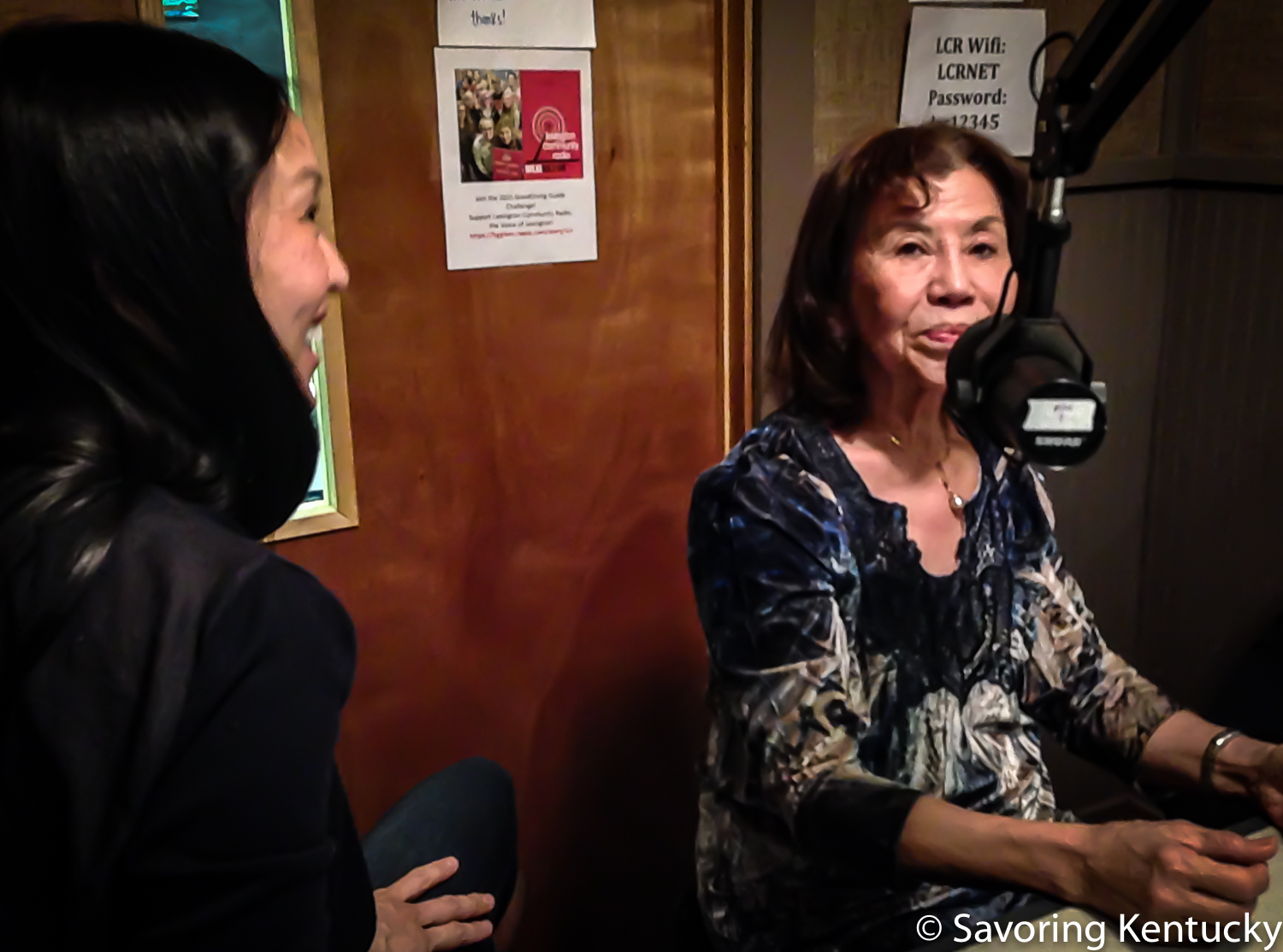 From left, Brigitte Nguyen Prather host of KY Proud Kitchen on Sundays , 11:30am on Fox56, and her mother Mai Tran, famed cook and promoter of cooking and cuisine, translator, world traveler, and advocate for nutrition as an essential part of healing from cancer.