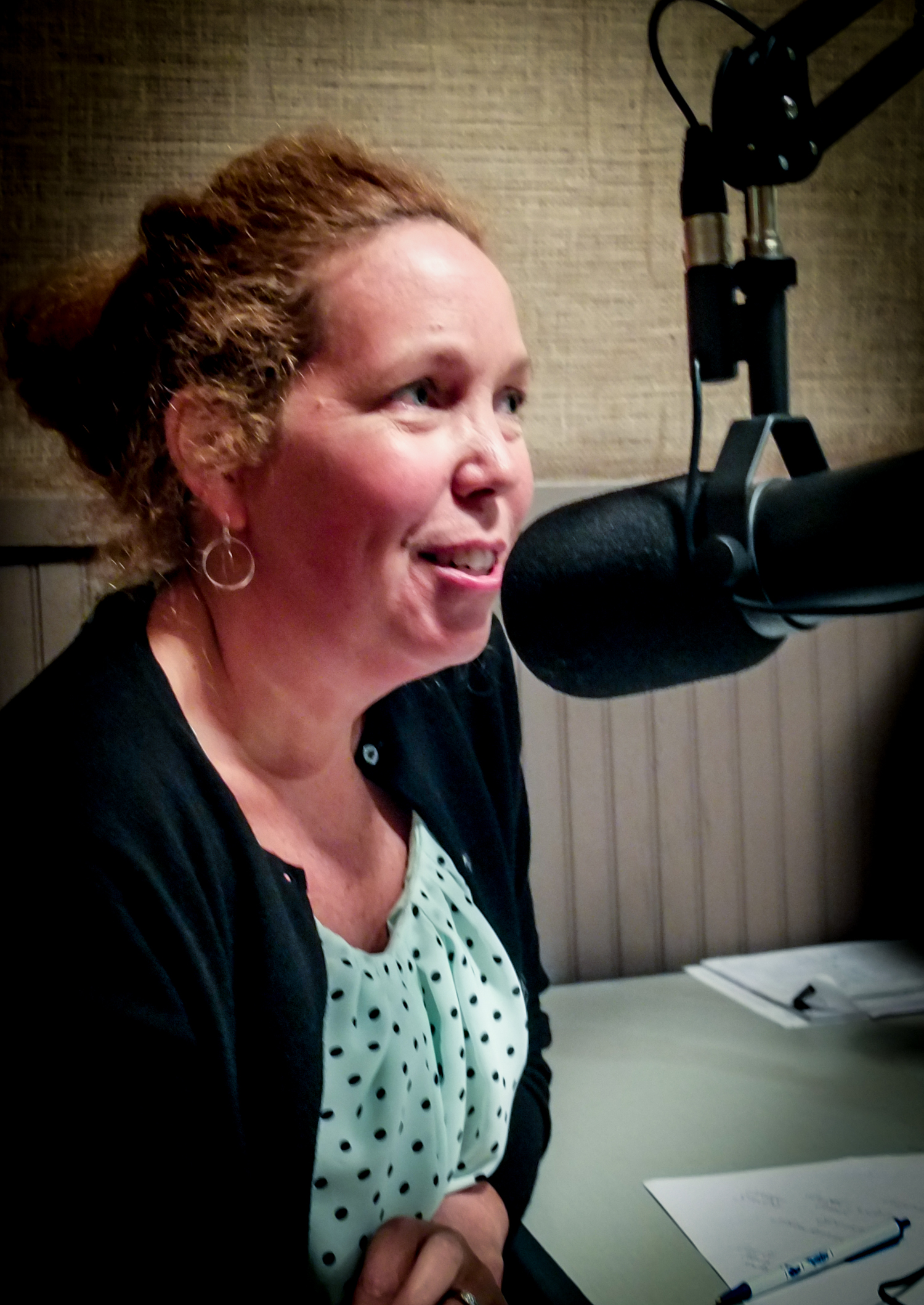 Hot Water Cornbread's April 12 special guest: Ann Bell Stone, an owner of  Elmwood Stock Farm