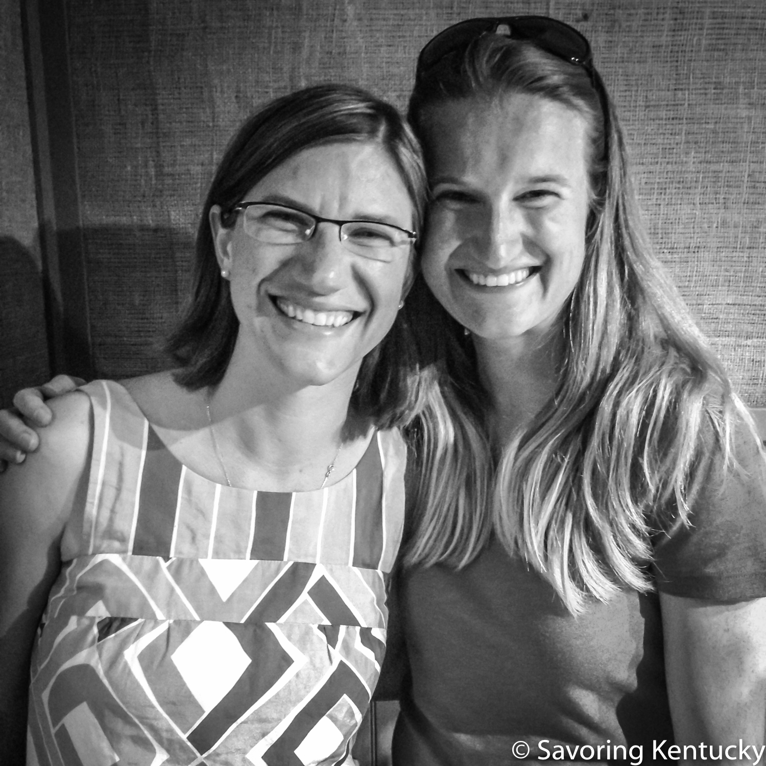 Sisters:  Dr. Nicole Breazeale , left, Assistant Professor of Sociology at Western Kentucky University and leader of  Project Breaking Ground , and Becca Breazeale Self, Executive Director of  FoodChain