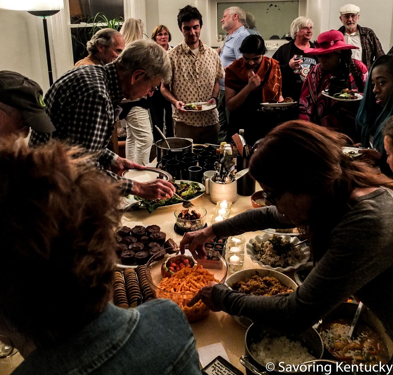 Part of the Cornbread Supper community, November 7, 2016.