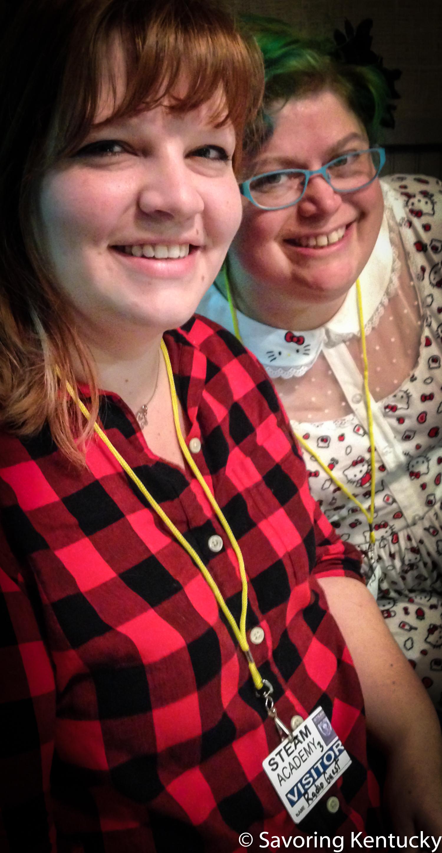 Ashley Minton, left, and Sarabeth Brownrobie