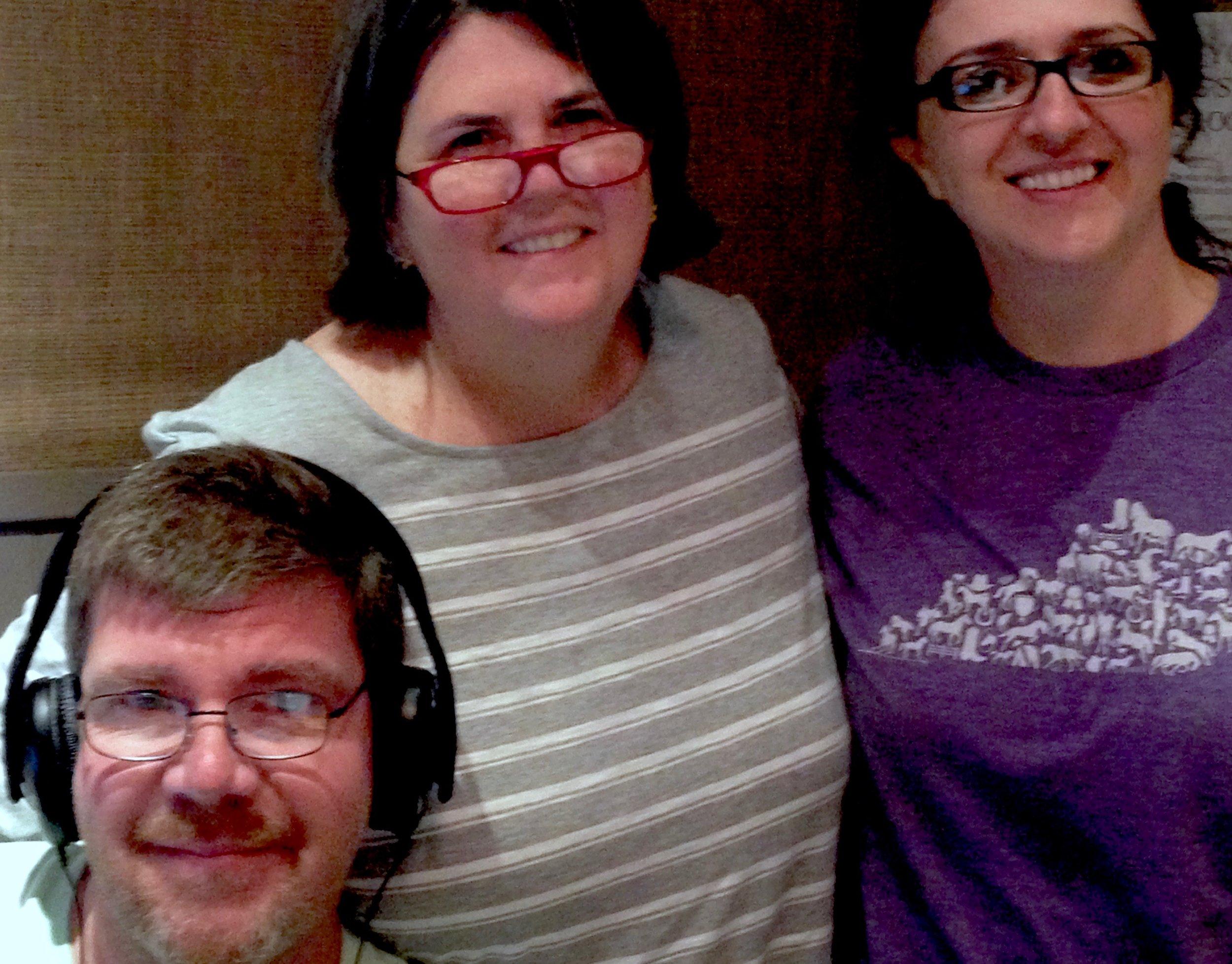From left, Chris Michel, Ouita Michel, Alma Kajtazovic