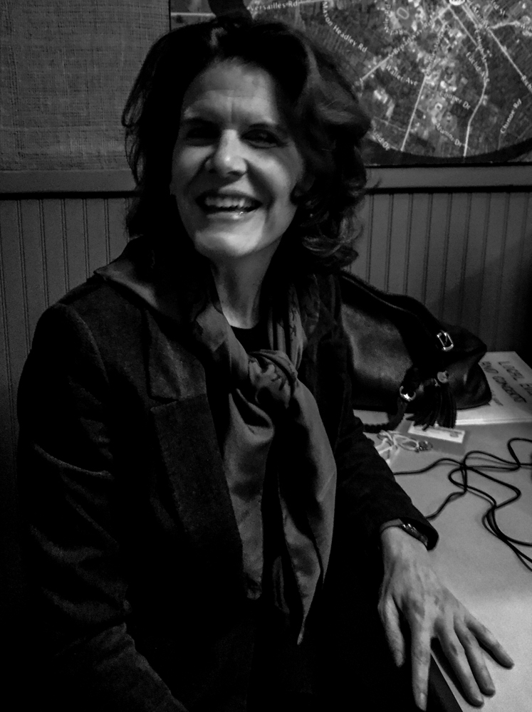 The fabulous Harriet Dupree in the WLXU studio at  Lexington Community Radio . Photo credit Ouita Michel.