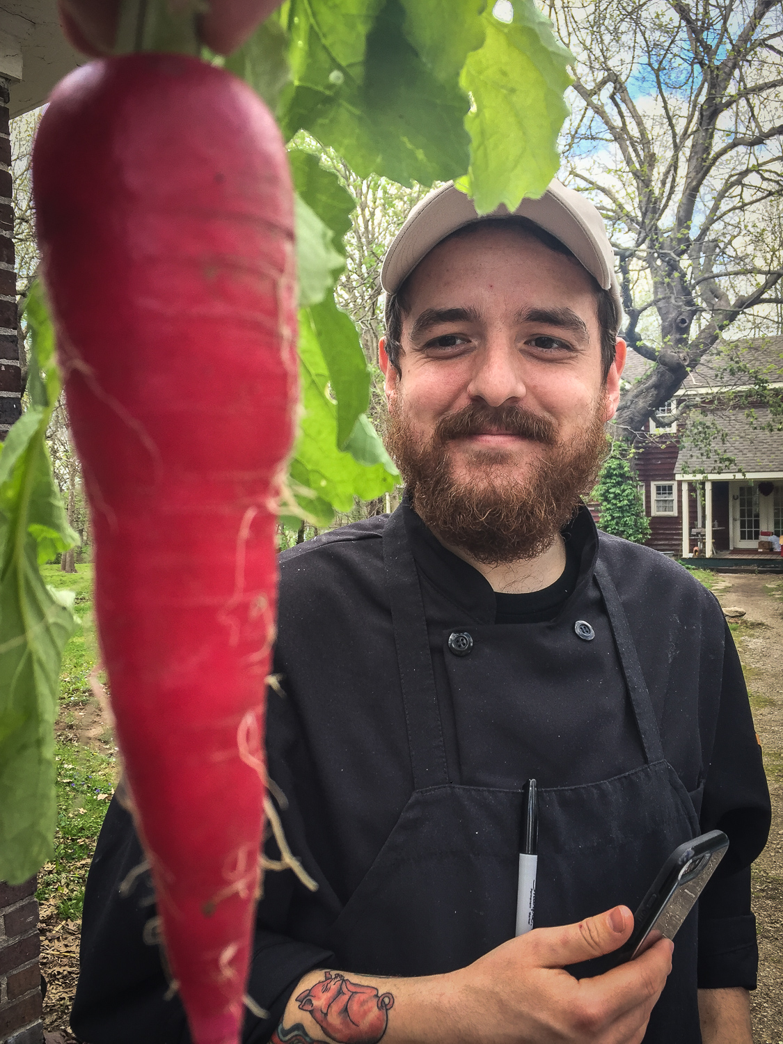 Chef Tyler McNabb, Holly Hill Inn, Midway, Kentucky. Photo credit: Ouita Michel.