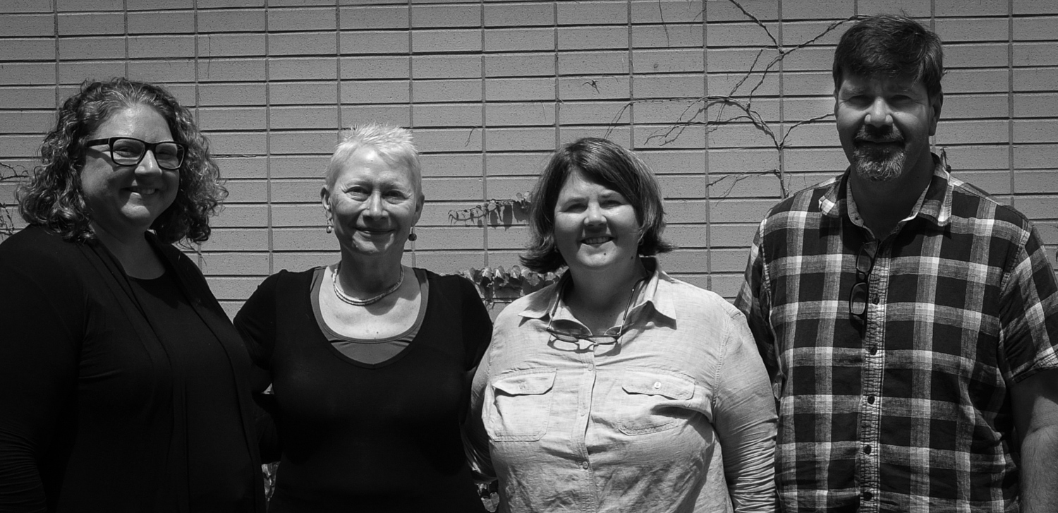 From left: Katie Ellis, Rona Roberts, Ouita Michel, Chris Michel. Photo credit: Sharon Hays. Thank you!