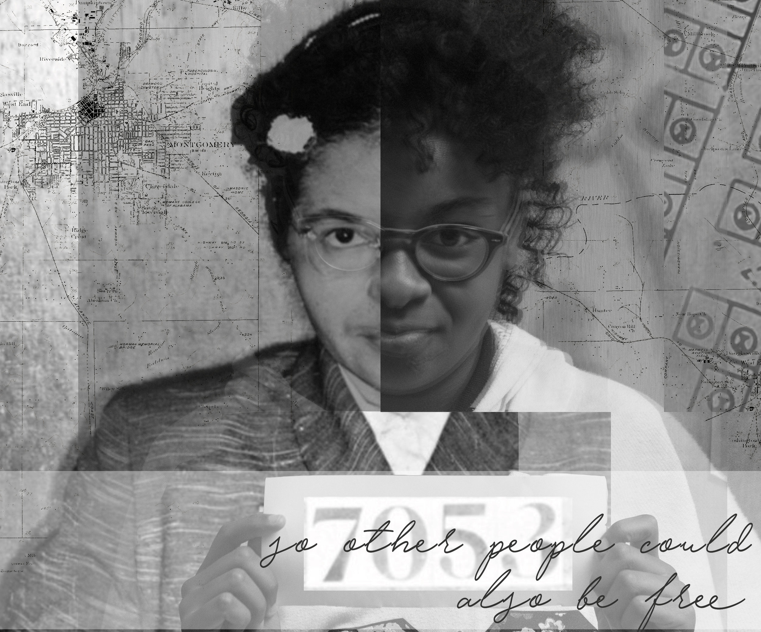 Rosa Parks and Gift Fisher