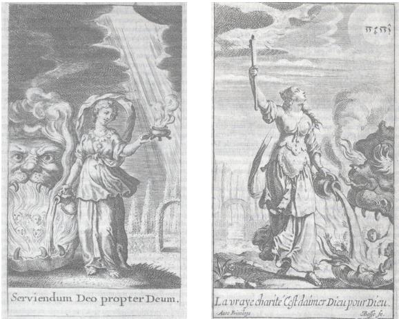 In: Jean-Pierre Camus, La Caritée ou le pourtraict de la vraye charité. Histoire dévote tirée de la vie de S. Louis, 1641