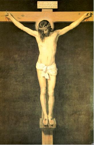 Velazquez,  Christ on the Cross , 1630