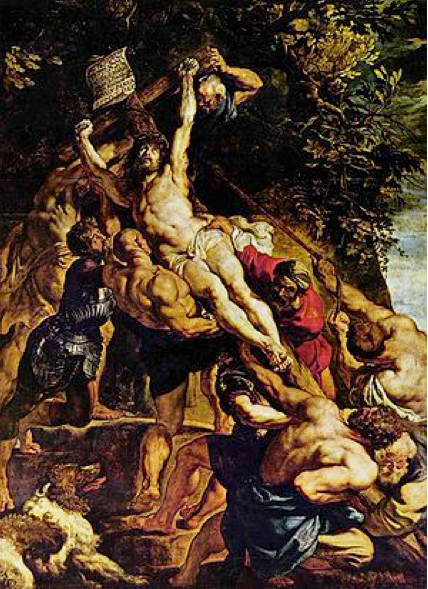 P.P. Rubens, Elevation of the Cross, 1617