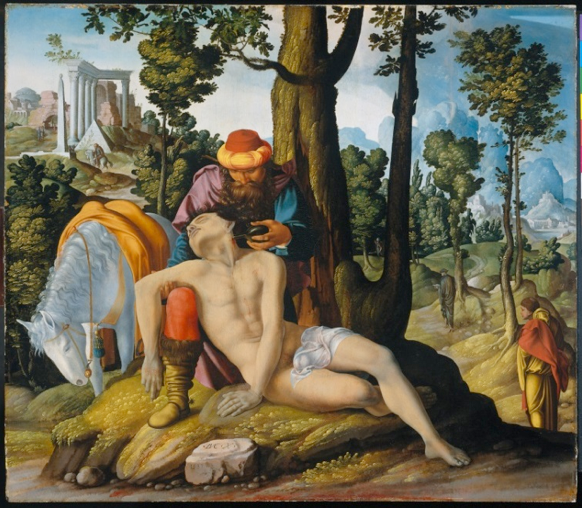 Jan van Scorel,  The Good Samaritan , 1537