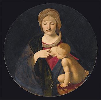 Giovanni Boltraffio,  Madonna lactans , ca 1508