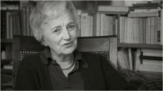 Anne  Declos / Dominique Aury at the time she revealed the identity of Pauline Réage