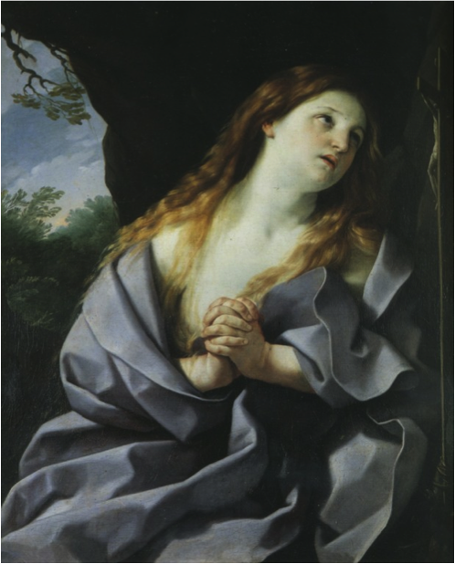 Guido Reni, Mary Madeleine in prayer, 1627