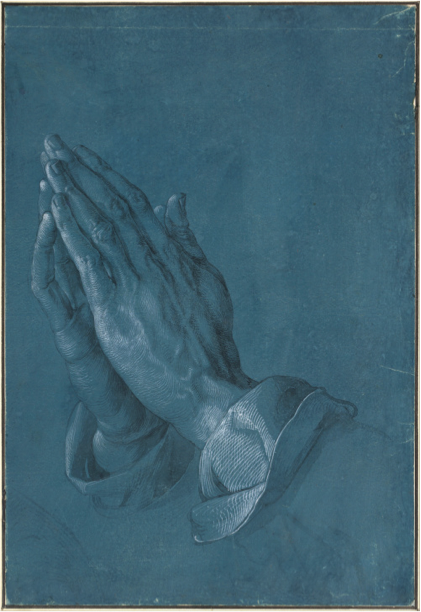 Albrecht Dürer,  Praying hands , 1508
