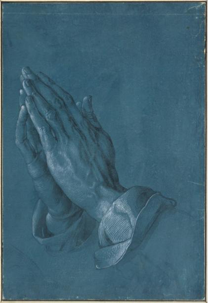 Albrecht Dürer,  Praying hands , 1508