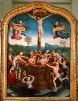 Jean Bellegambe,  Mystic Bath of Souls  , 1505-10
