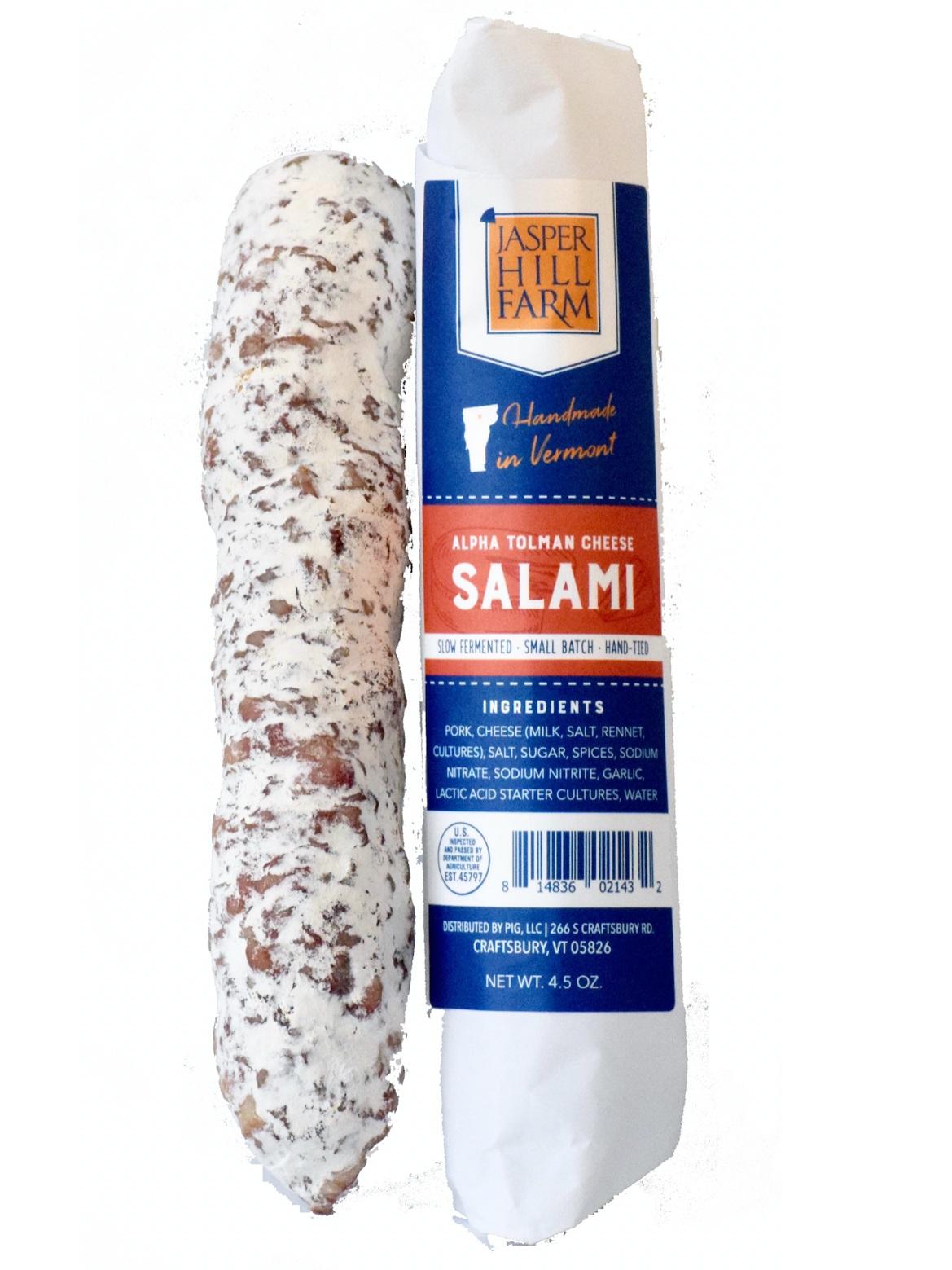 Alpha Tolman Salami - 4.5oz