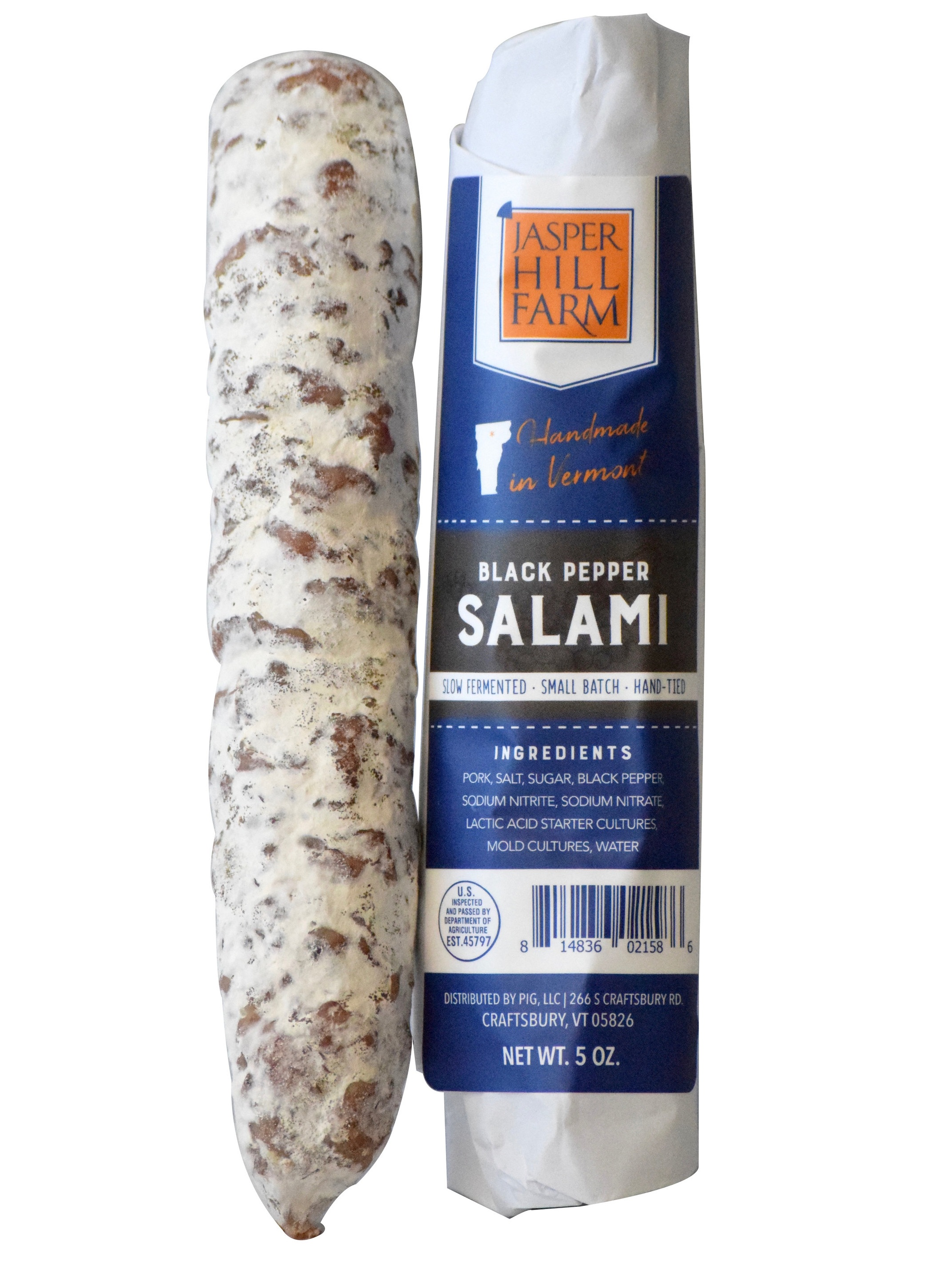 Black Pepper Salami - 4.5oz