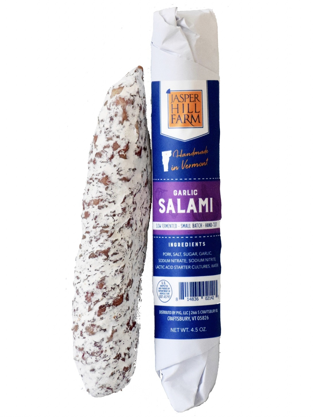 Garlic Salami - 4.5oz