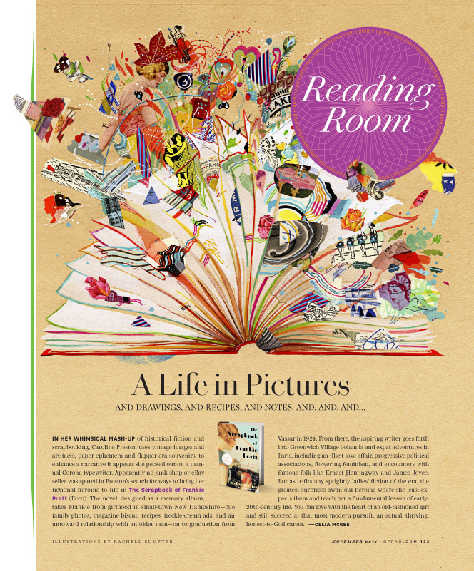 FOB page for O, the Oprah Magazine.