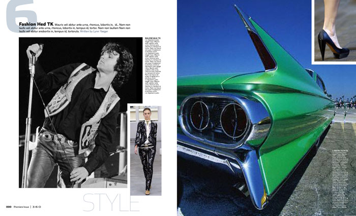 Feature spread for American Express 360.