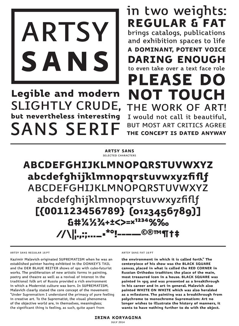 Artsy Sans