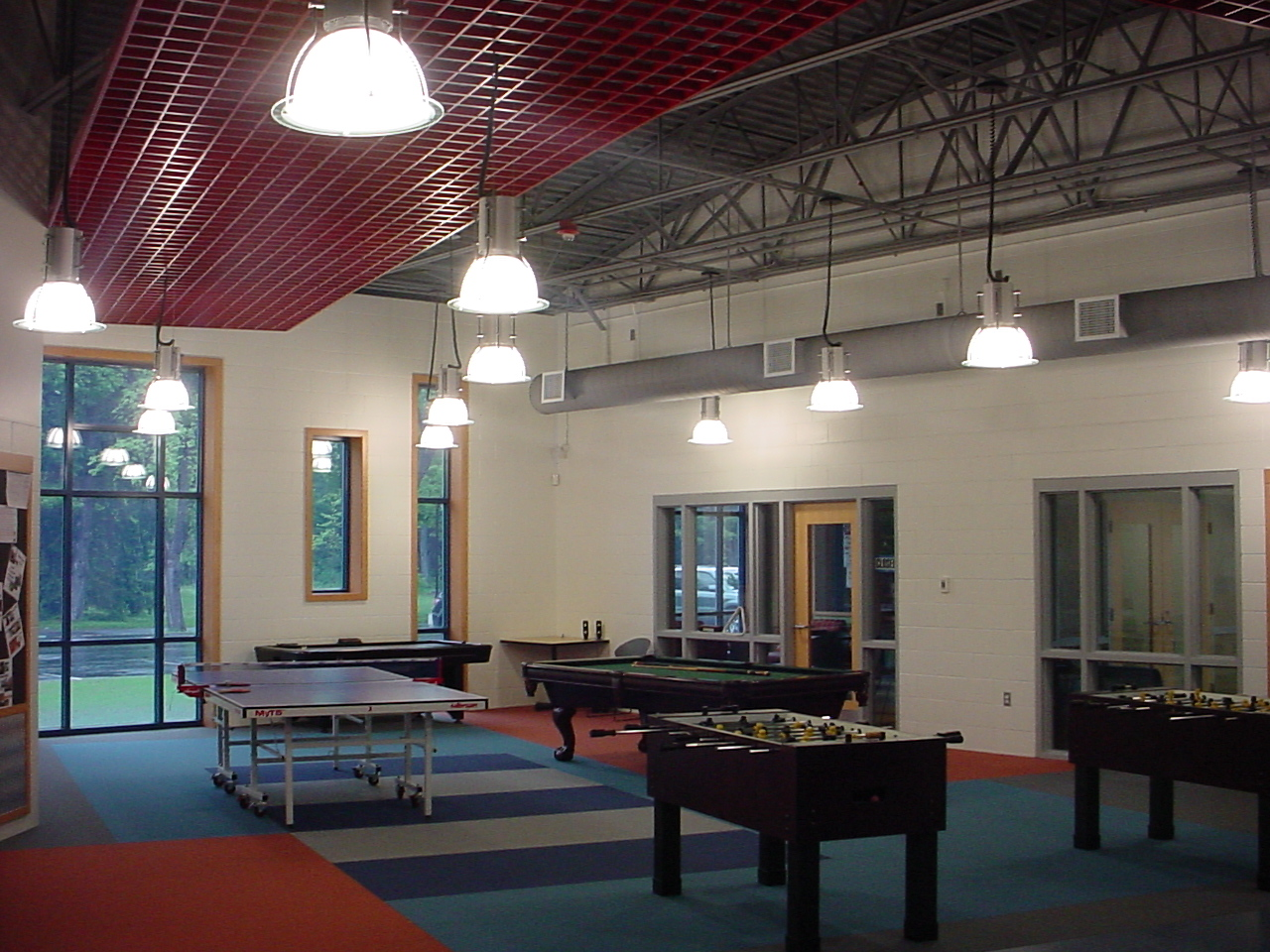 Engineering services for the renovations and additions to the Boys & Girls Club. Work included plumbing design and fixture selection, mechanical design, fire protection design, lighting, fire alarm, data and communications, and security system design and layout