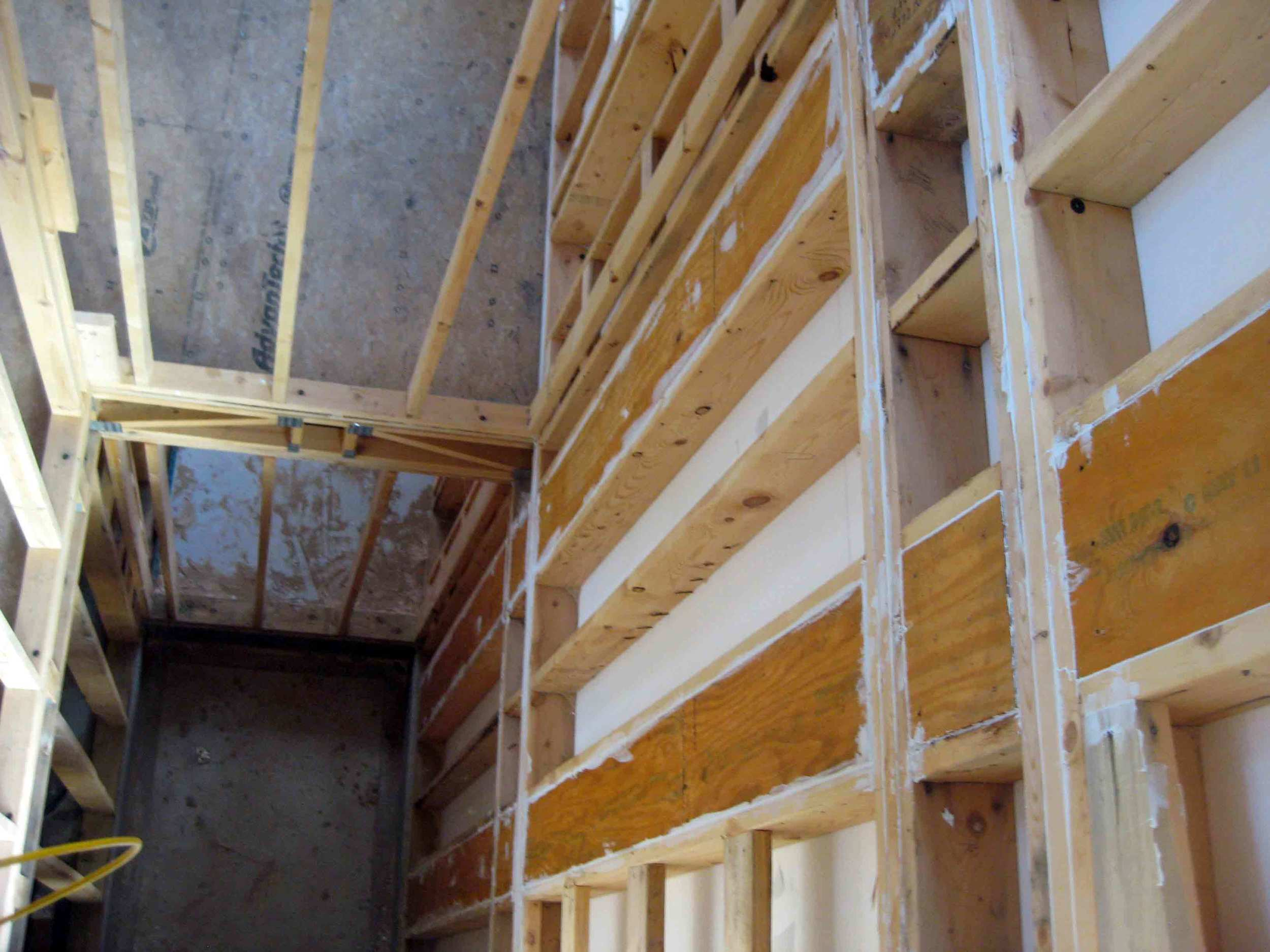 REFER TO FINAL APPROVED LAYOUT DRAWINGS FOR LOCATIONS OF LVL's AND ROUGH DOOR OPENINGS
