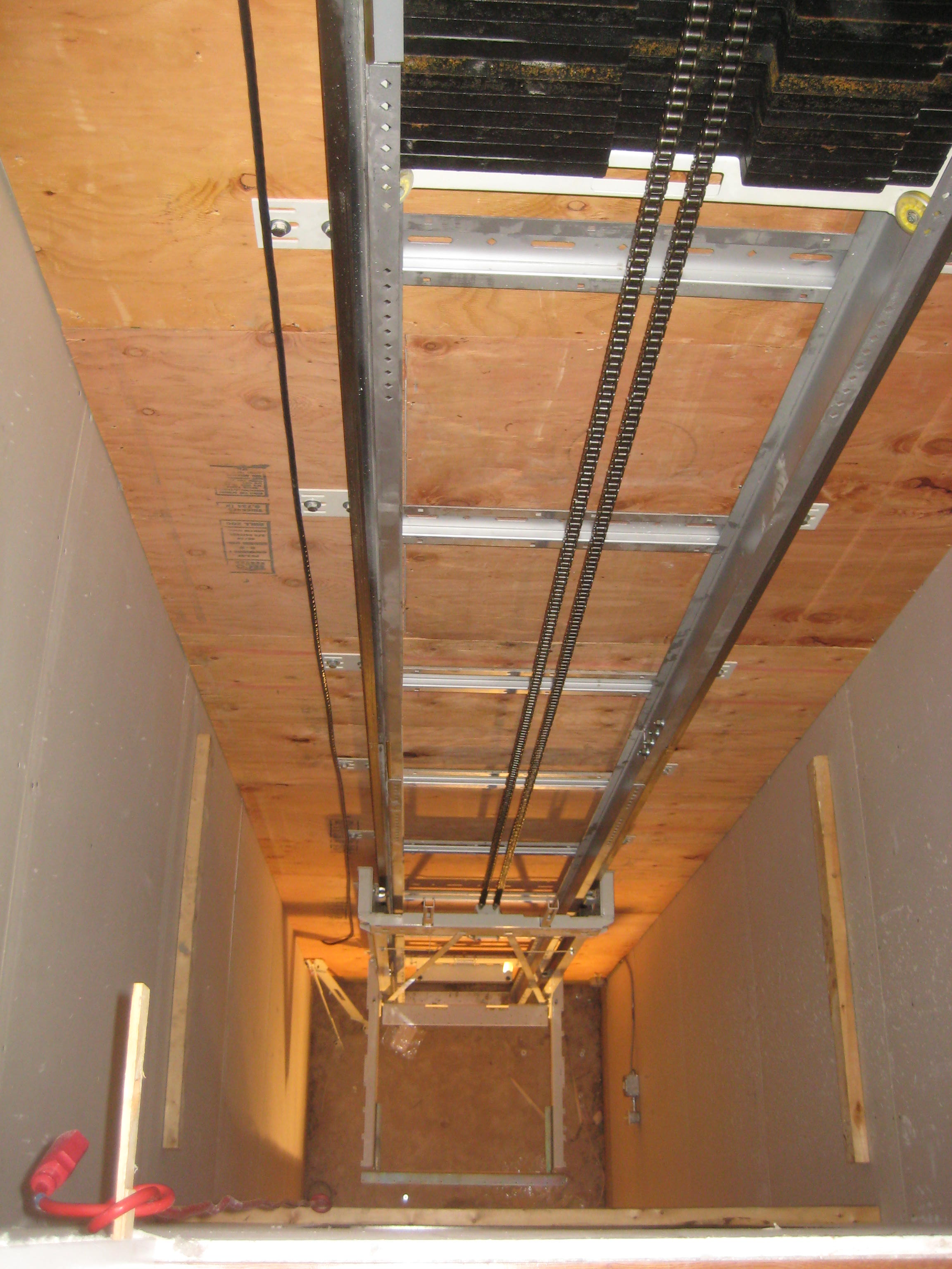 Fire Rated Plywood on Support Wall.jpg