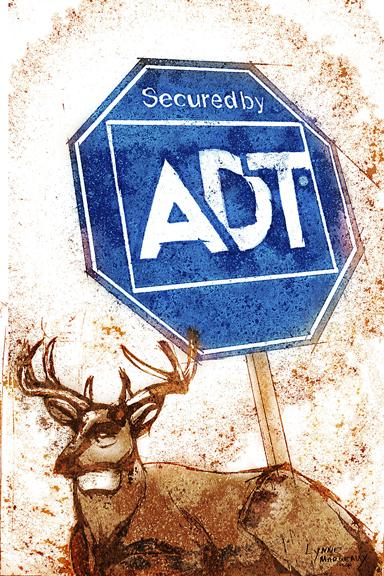 Suburban Deer 3 (ADT)