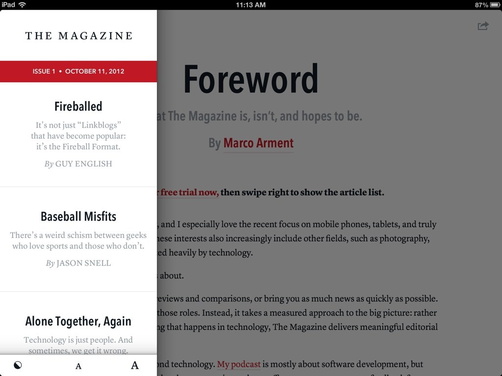 The future of magazines? You decide.