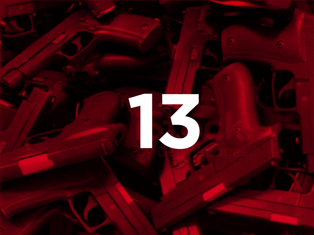 That's more than three times as many who die from homicide. (iStock video background)