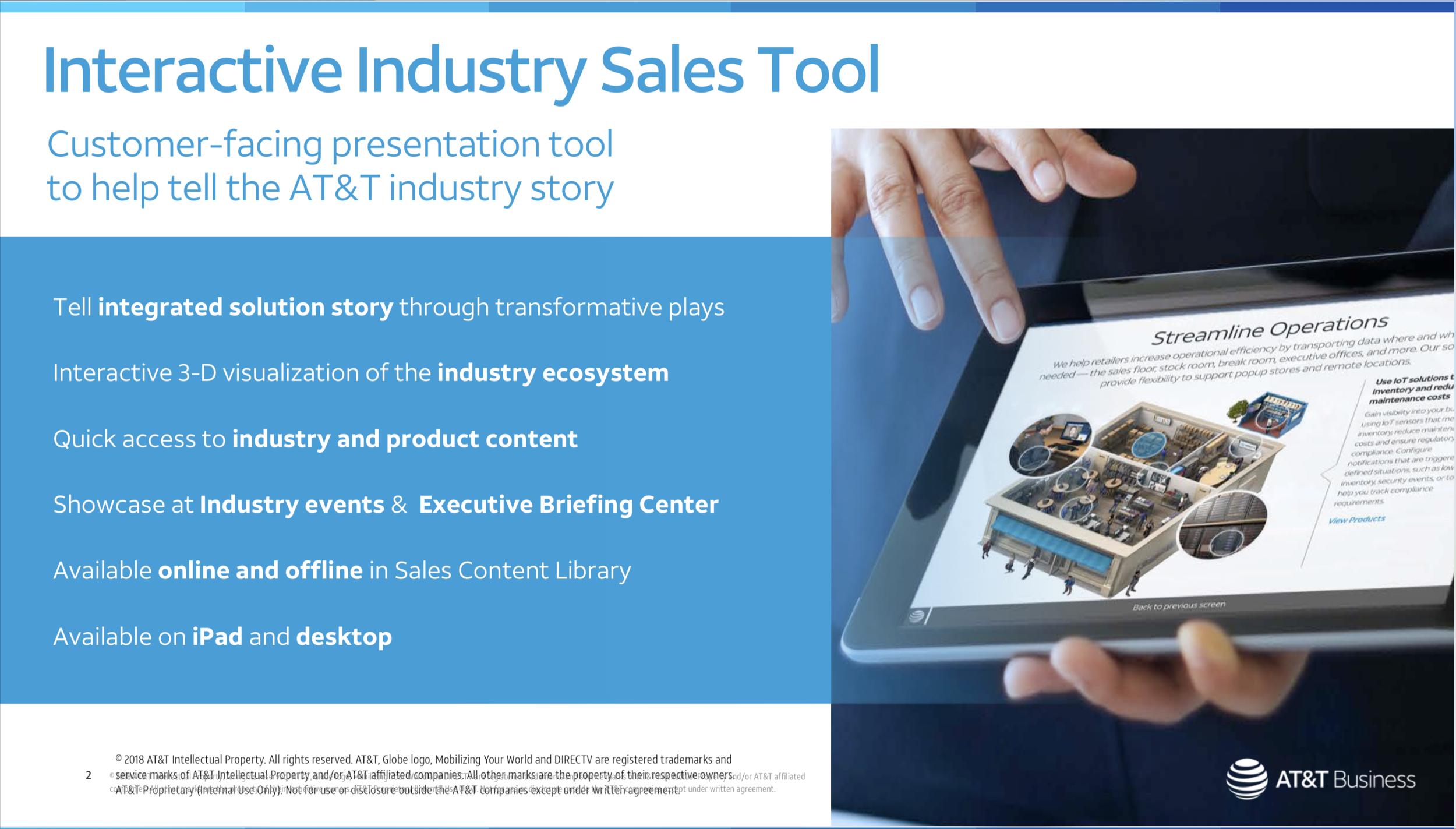 Industry Sales Tool