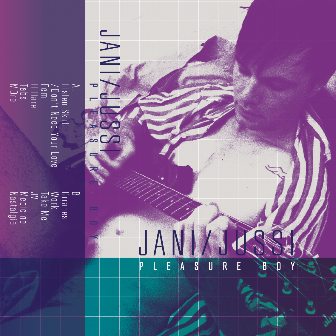 Jani Jussi 12 song Cassette