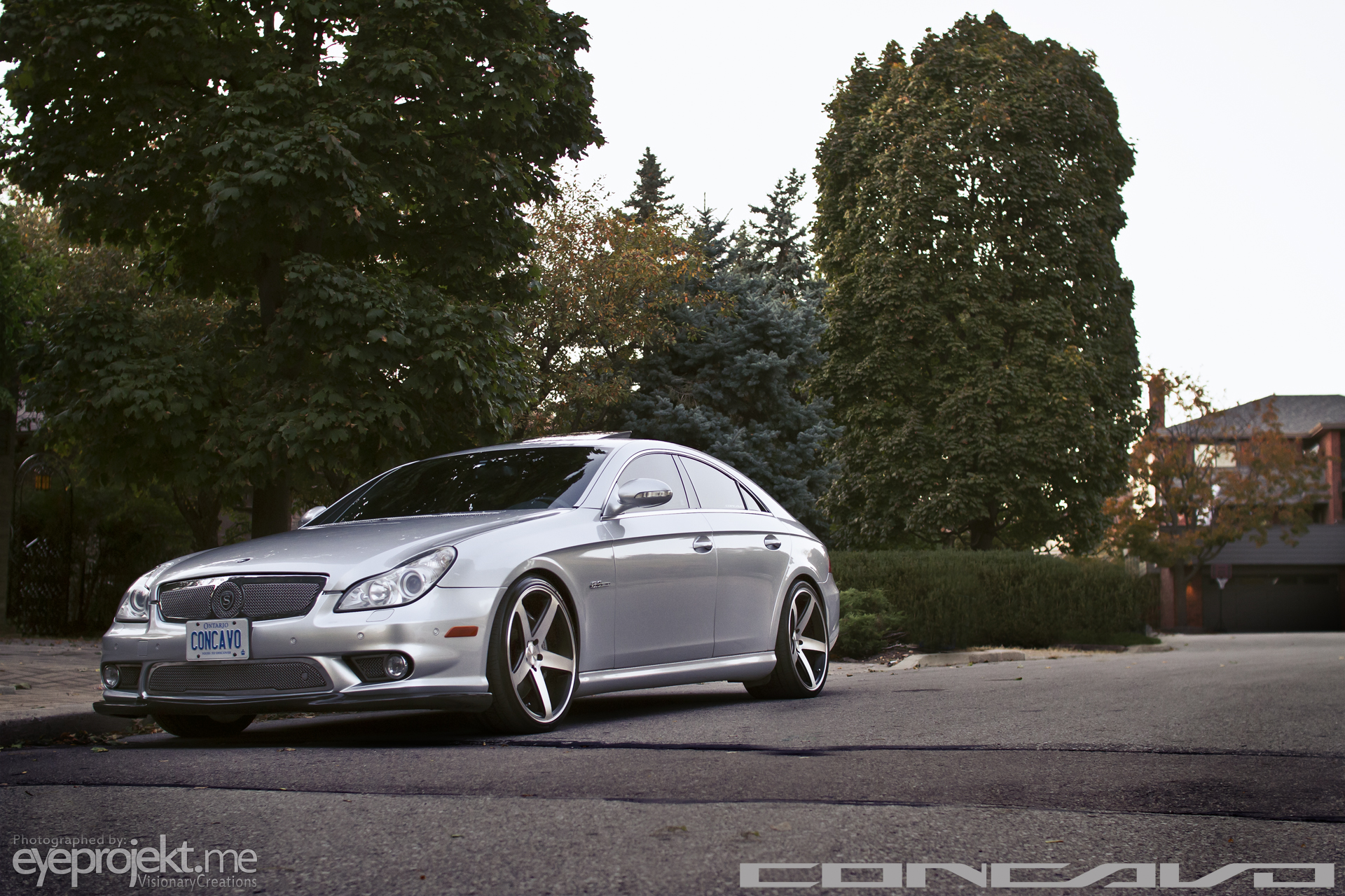 Mercedes CLS63 AMG x Concavo CW-5