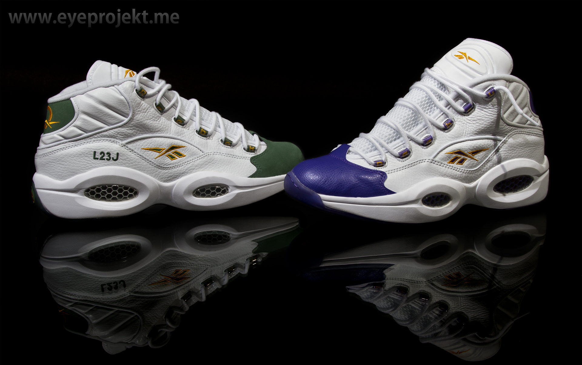 Reebok Question Mid \\ For Player Use Only Pack