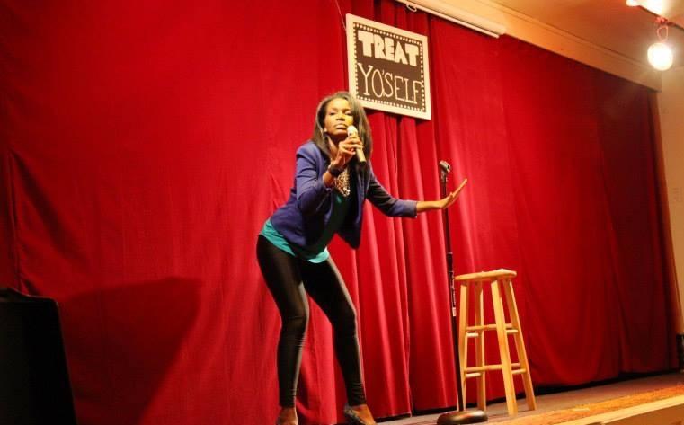 M.C. - Treat Yo' Self Comedy For Women, By Women