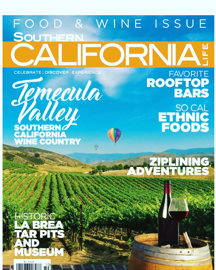 "My ""So Cal Ethnic Foods"" story made the cover of Southern CA Life Magazine. Yummy!"