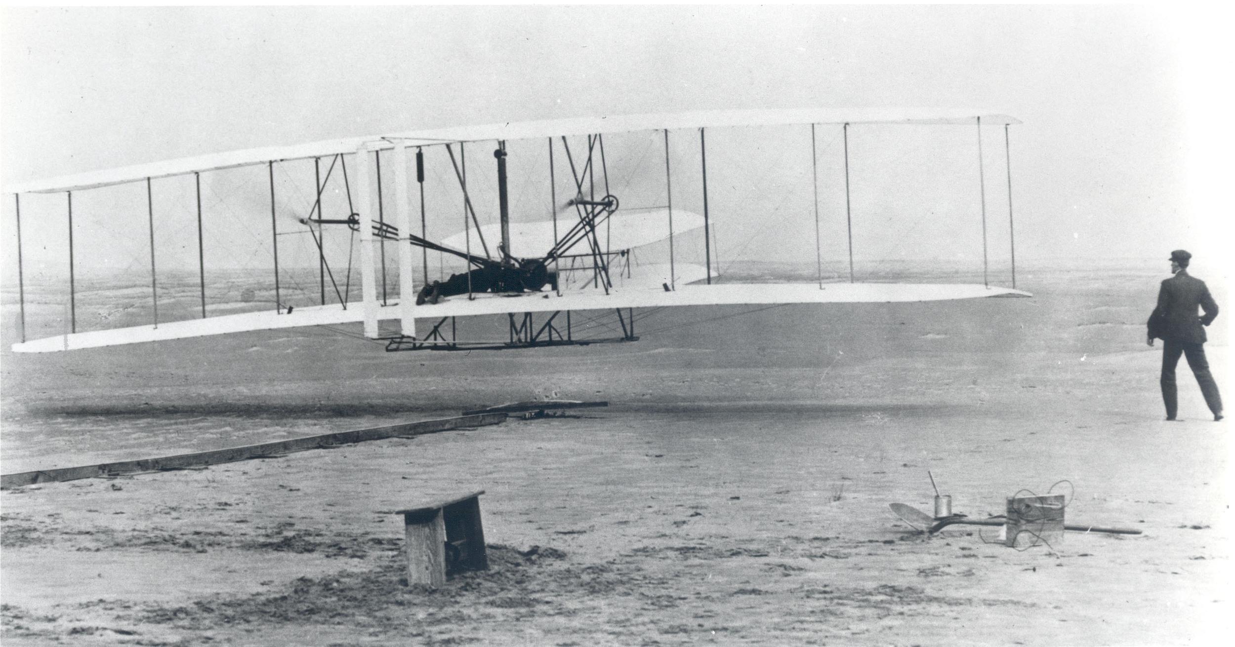 Wright Bros 1st Heavier Than Air Flight - Source NASA.jpg