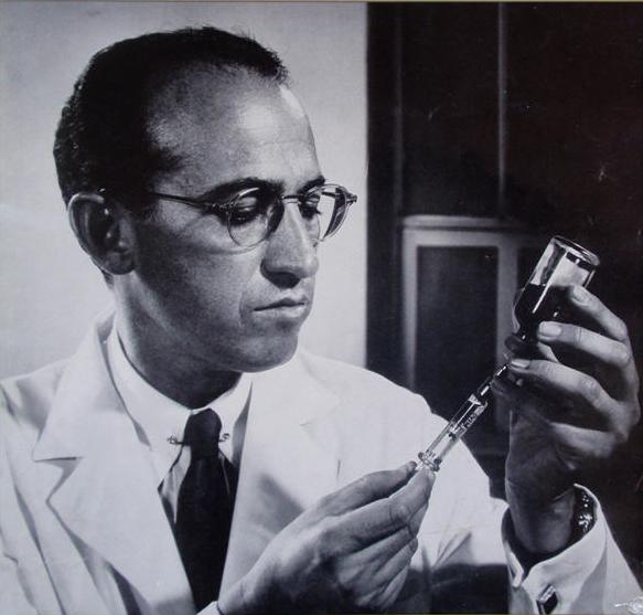 Dr. Jonas Salk. Source: Wikimedia Commons